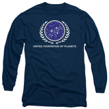 Long Sleeve: Star Trek - United Federation Logo T-Shirt