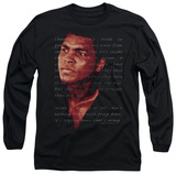 Long Sleeve: Muhammad Ali - Champion's Speech T-Shirt