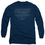 Long Sleeve: Star Trek - TNG Enterprise Shirts
