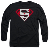 Long Sleeve: Superman - Canadian Shield Shirts