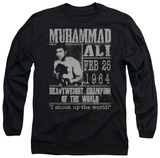 Long Sleeve: Muhammad Ali - Poster T-Shirt