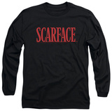 Long Sleeve: Scarface - Logo T-shirts