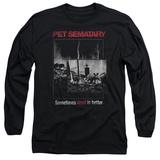 Long Sleeve: Pet Semetary - Cat Poster Long Sleeves