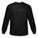 Long Sleeve: Paranormal Activity 3 - Logo Shirts
