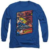 Long Sleeve: Superman - Superman Vs Zod T-shirts