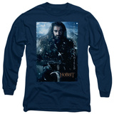 Long Sleeve: The Hobbit: An Unexpected Journey - Thorin Poster Shirts