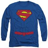 Long Sleeve: Superman - New 52 Torso T-shirts