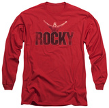 Long Sleeve: Rocky - Victory Distressed Shirts
