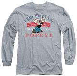 Long Sleeve: Popeye - I Yam What I Yam Long Sleeves