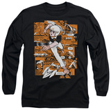 Long Sleeve: Speed Racer - Manga Panels T-shirts