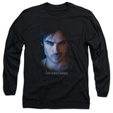 Long Sleeve: The Vampire Diaries - Damon T-shirts