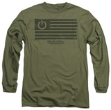 Long Sleeve: Revolution - Power Flag T-Shirt