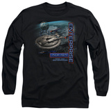 Long Sleeve: Star Trek - Enterprise NX-01 T-Shirt