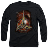 Long Sleeve: Star Trek - Klingon Crest T-shirts