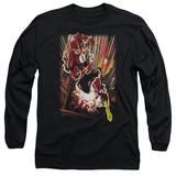 Long Sleeve: The Flash - Street Speed T-Shirt