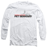 Long Sleeve: Pet Sematary - Logo T-shirts