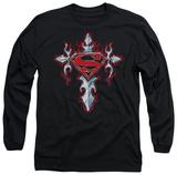 Long Sleeve: Superman - Gothic Steel Logo T-shirts