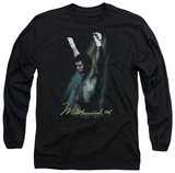 Long Sleeve: Muhammad Ali - Raised Fists T-shirts
