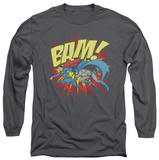 Long Sleeve: Superman - Bam Shirts