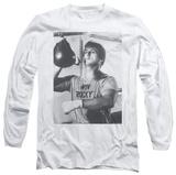 Long Sleeve: Rocky - Square T-Shirt