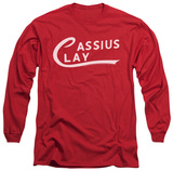 Long Sleeve: Muhammad Ali - Cassius Clay Logo T-shirts