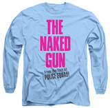 Long Sleeve: Naked Gun - Logo T-Shirt