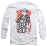 Long Sleeve: Scarface - Little Friend T-shirts