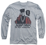 Long Sleeve: Star Trek - Q Point Shirts