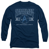 Long Sleeve: Star Trek - Starfleet Academy Earth Shirt