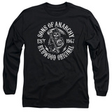 Long Sleeve: Sons Of Anarchy - Redwood Originals T-Shirt
