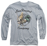 Long Sleeve: Sun Records - Rockin Rooster Logo T-shirts