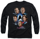 Long Sleeve: Star Trek - Starfleet's Finest T-shirts