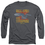 Long Sleeve: Star Trek - NCC1701 T-Shirt