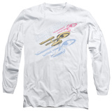 Long Sleeve: Star Trek - Retro Tri Enterprise Shirts