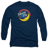 Long Sleeve: Moon Pie - Current Logo T-Shirt