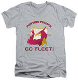 Star Trek - Fighting Phoenix V-Neck Shirts