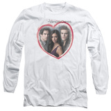 Long Sleeve: The Vampire Diaries - Girls Choice T-Shirt