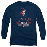 Long Sleeve: Top Gun - Wingman Goose T-shirts