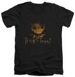 Trick R Treat - Logo V-Neck T-Shirt