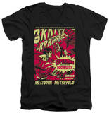 Superman - Metropolis Meltdown V-Neck T-Shirt