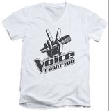 The Voice - One Color Logo V-Neck T-Shirt