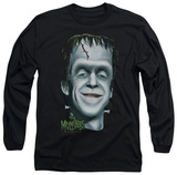 Long Sleeve: The Munsters - Herman's Head T-Shirt