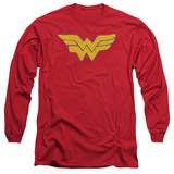 Long Sleeve: Wonder Woman - Rough Wonder Shirts