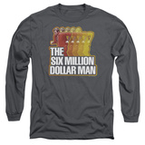 Long Sleeve: The Six Million Dollar Man - Run Fast T-shirts