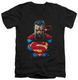 Superman - Displeased V-Neck T-Shirt