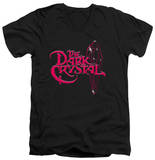 The Dark Crystal - Bright Logo V-Neck T-shirts