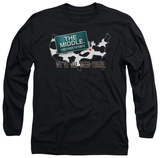 Long Sleeve: The Middle - We've All Been There T-shirts
