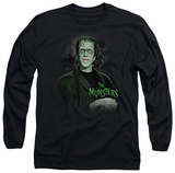Long Sleeve: The Munsters - Man Of The House T-shirts