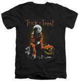Trick R Treat - Sitting Sam V-Neck Shirts