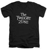 The Twilight Zone - Logo V-Neck Shirt